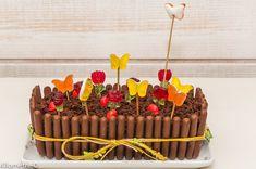 Photo de recette de jardinière au chocolat, gâteau, anniversaire, fête, fleurs, beau, Kilomètre-0, blog de cuisine réalisée à partir de produits locaux et issus de circuits courts