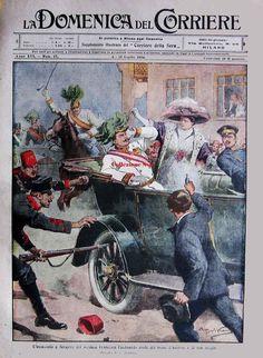 fotografia e prima guerra mondiale stefano viaggio alida caligaris: 1914 28 giugno a Sarajevo
