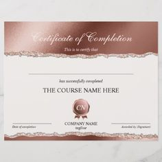 Shop Certificate of Completion Award Course Completion created by smmdsgn. Logo Ig, Course Completion Certificate, Certificate Of Appreciation, Gift Certificates, Personal Photo, Awards, Place Card Holders, Paper, Prints
