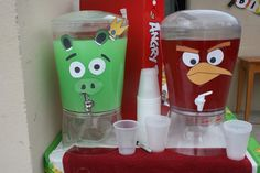 "Angry Birds / Birthday ""Angry Bird's Day"" 