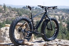 fat-bike (when I lived in Florida a long time ago, I had to fabricate one of these. I used beach cruiser tires on mine)