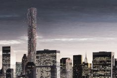A Drone Hive for Manhattan - http://www.decorationarch.net/decoration-ideas/a-drone-hive-for-manhattan.html