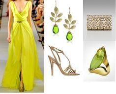 Ksenia-Bradner's stylebook at ShopStyle: Ksenia Bradner in Oscar de la Renta Spring 2012 on shopstyle.com