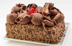 BOLO MOUSSE AERADO DE CHOCOLATE
