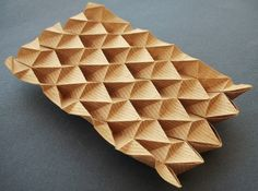 To Nottingham With Love: Project I- Origami Study Lamp (Research) Paper Art / Origami Art / Paper Sculptures :  More At FOSTERGINGER @ Pinterest