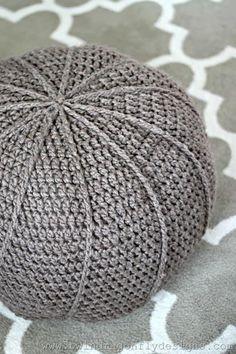 Crochet Floor Pouf Free Pattern