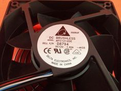 Delta Electronics Brushless Fan AFC1212DE ~ 12V DC 3.00A