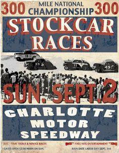 vintage nascar poster                                                                                                                                                                                 More