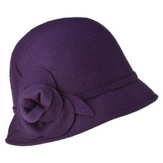 a60810e964e purple cloche hat  ) just bought this with a matching scarf for cold  weather!