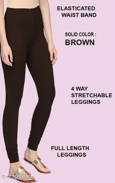 Leggings & Tights  Alluring Attractive Women's Legging Fabric: 95%COTTON  5% LYCRA Size: XL - Waist - Up To 22 in To 28 in Length - Up to 42 in XXL - Waist - Up To 25 in To 30 in Length - Up To 44 in Type: Stitched Description:  It Has 1 Pieces Of Women's Leggings  Colour: Brown Pattern: Solid Country of Origin: India Sizes Available: XL, XXL   Catalog Rating: ★4.1 (480)  Catalog Name: Siya Alluring Attractive Women's Leggings Vol 18 CatalogID_603678 C79-SC1035 Code: 262-4222852-675