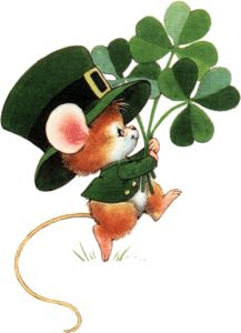 Saint Patrick's Day Happy Mouse