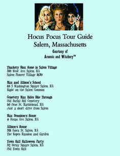 Free Hocus Pocus Movie Location Guide Salem, MA ***Dennison house is actually 3 Ocean Dr*** Oh The Places You'll Go, Places To Travel, Travel Stuff, Vacation Places, Vacation Spots, Vacation Ideas, Salem Halloween, Halloween Queen, Halloween 2019