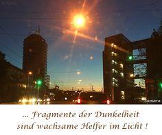 ... Fragmente der #Dunkelheit sind wachsame #Helfer im #Licht !