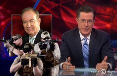 Stephen Colbert got his digs in on Papa Bear O'Reilly once again. O Reilly, Green Business, Stephen Colbert, Got Him, Cool Things To Make, How To Plan, Sexy, Fun, Friday