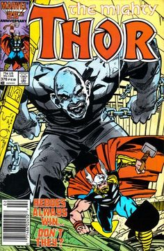 Cover for Thor (Marvel, February 1987) #376 [Direct]