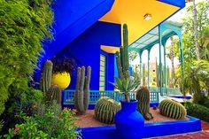 Majorelle Garden, Morocco