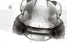 Peugeot doodling by Sydney Hardy via Sketch Storm Car Design Sketch, Car Sketch, Car Illustration, Small Cars, Transportation Design, Automotive Design, Car Photos, Concept Cars, Motor Car