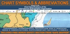 Chart Symbols & Abbreviations boating & nautical app for iPhone, iPad, Android