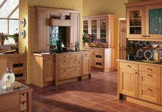 Newport Natural Oak  Burbidge Classic Kitchens
