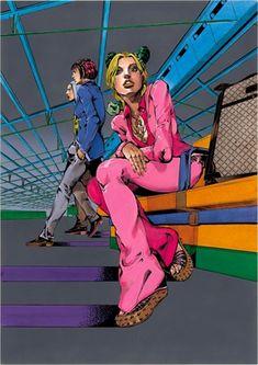 """Fly High With Gucci"", Gucci meets manga comics! Hirohiko Araki X Gucci – ""Fly High With Gucci"", Gucci meets manga comics! Jojo's Bizarre Adventure, Manga Anime, Arte Do Kawaii, Jojo Parts, Jojo Anime, Manhwa, Arte Sketchbook, Takashi Murakami, Cultura Pop"