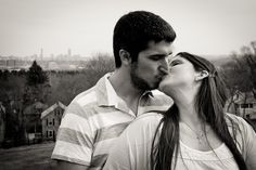 Angela and David's engagement session