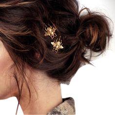 UK/_ LC/_ Colorful Heart Rhinestone Glossy Girls Hairpin Hair Clip Headwear Decor