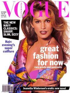 Cindy Crawford - Vogue Magazine [Australia] (October 1992)