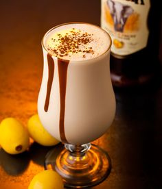 A decadently thick cocktail, the Dom Pedro is a favourite on the menu. Be sure to ask for Amarula Cream to add an exotic swirl to this classic.