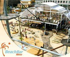 BeachBar mitten in Berlin? Na klar, ab zu BeachMitte