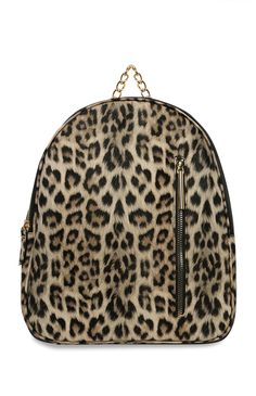 fa1525b2f951c8 Animal Print Dome Backpack Primark, Suits You, Louis Vuitton Damier,  Backpack, Patterns