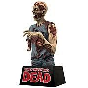 Walking Dead Zombie Bust Bank - http://lopso.com/interests/zombies/walking-dead-zombie-bust-bank/ -   Unlike the characters in Robert Kirkmans comic series, The Walking Dead , our future isnt threatened by a zombie apocalypse. So why dont you start saving for it? Put aside money for your zombie-proof dream house in this 8-inch vinyl bank depicting a lurker (or is it a...