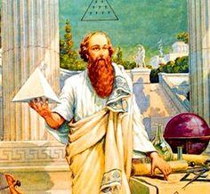 Grecia antigua los filósofos llamados presocráticos –Tales, Anaximandro y Anaxímenes,y afirman que el origen de la realidad está en el agua, en el infinito originario o en el aire), pretenden dar una definición del mundo como un todo ordenado y gobernado por una sola ley.
