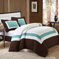 Chic Home Normandy 7 Piece Duvet Cover Set | AllModern. Love this for th guest room