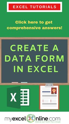 technology tips - Create a Data Entry Form in Excel Excel Tips, Excel Hacks, Excel Budget, Microsoft Excel, Microsoft Office, Excel Cheat Sheet, Cheat Sheets, Excel For Beginners, Data Entry