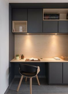 Small Home Office Furniture, Home Office Table, Small Home Offices, Home Office Decor, Office Furniture Design, Workspace Design, Office Interior Design, Office Interiors, Small Home Interior Design
