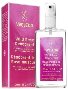 Weleda Wild Rose Natural Deodorant Spray (the Wild Rose Pampering Body Lotion is lovely, too)
