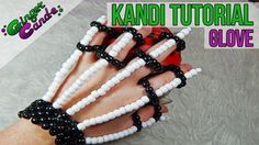 Skeleton Gloves - [Kandi Tutorial], Today Im going to teach you how to make kandi skeleton gloves. These will make any epic Halloween or rave outfit perfect. Pony Bead Patterns, Kandi Patterns, Beading Patterns, Stitch Patterns, Loom Beading, Diy Kandi Bracelets, Bracelet Crafts, Rave Bracelets, Fuse Beads