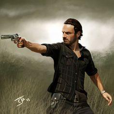 Rick Grimes - The Walking Dead <3