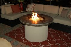 Gather close friends around the fire pit this summer under the stars. #OutdoorLiving http://www.midamericasales.net/#!outdoor-living-products/ou134