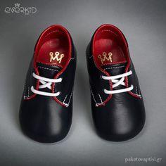 Δερμάτινα Δετά Παπουτσάκια Αγκαλιάς Everkid 9106Μ Men Dress, Dress Shoes, Boy Christening, Cleats, Oxford Shoes, Boys, Fashion, Football Boots, Young Boys