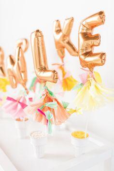 D I Y—ikea hack ice cream cart and sprinkle bar   sugarandcloth.com