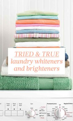 Tried & True Laundry Whiteners & Brighteners | Martha Stewart Living - Available in powder or liquid form, these laundry aids can brighten, deodorize, and soften laundry. Here is some know-how from Martha Stewart's Homekeeping Handbook.