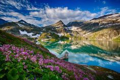 Here are some beautiful pictures of nature, of mountains and water. Some are just breathtaking and when I see something beautiful I just want to share with others whom I feel might appreciate it also. Frühling Wallpaper, Spring Wallpaper, Some Beautiful Pictures, Beautiful Places, Beautiful Scenery, Amazing Pictures, Amazing Places, Beautiful Gardens, Landscape Photography