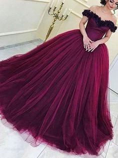 Beautiful Prom Dresses Ball Gown Floor-length Sexy Prom Dress/Evening Dress JKL382