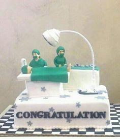 Doctors cake design