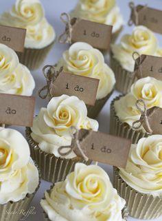 Wedding cupcakes buttercream