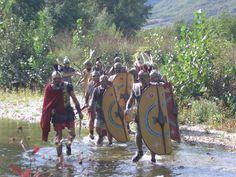 rievocatori della COLONIA IULIA FANESTRIS rievocazione storica Roman Reenactors of COLONIA IULIA FANESTRIS Roman Army