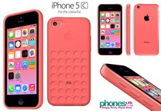 Pink iPhone 5c :)