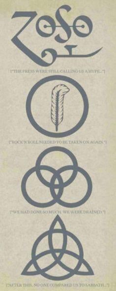 Led Zeppelin fond on tumbler.com
