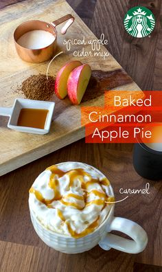 In your coffeemaker brew basket, combine 2 Tbsp Starbucks Cinnamon Dolce… Starbucks Coffee, Hot Coffee, Yummy Drinks, Yummy Food, Baked Cinnamon Apples, Cinnamon Dolce, Spiced Apple Cider, Smoothie Drinks, Smoothies